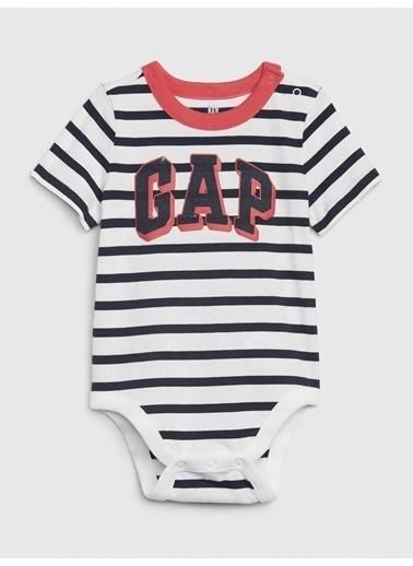 Gap Gap Logo Kısa Kollu Body Beyaz
